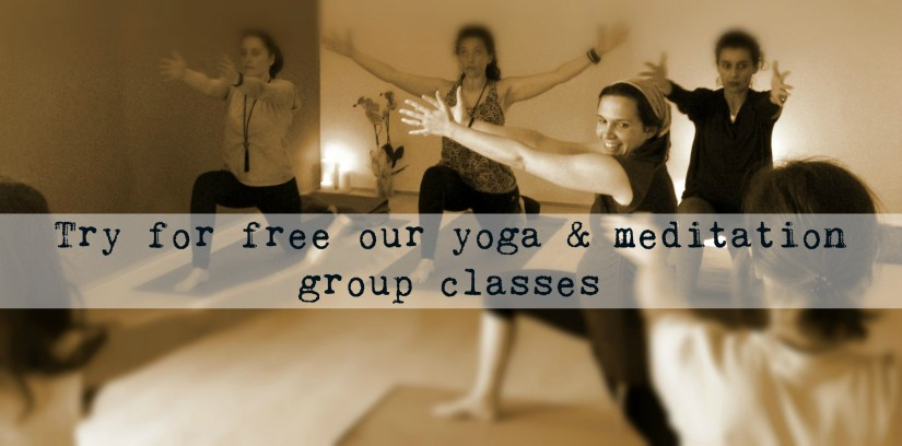 Try for free our yoga&Meditation
